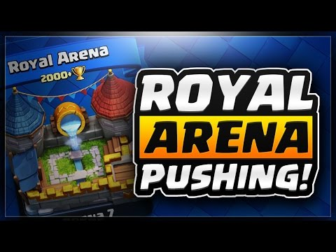 CLASH ROYALE | Pushing 2 ROYAL Arena 7 Stream!