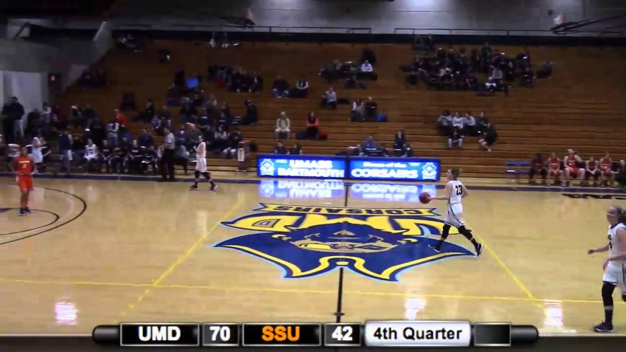 UMass Dartmouth Women's Basketball 80, Salem State 43 ...