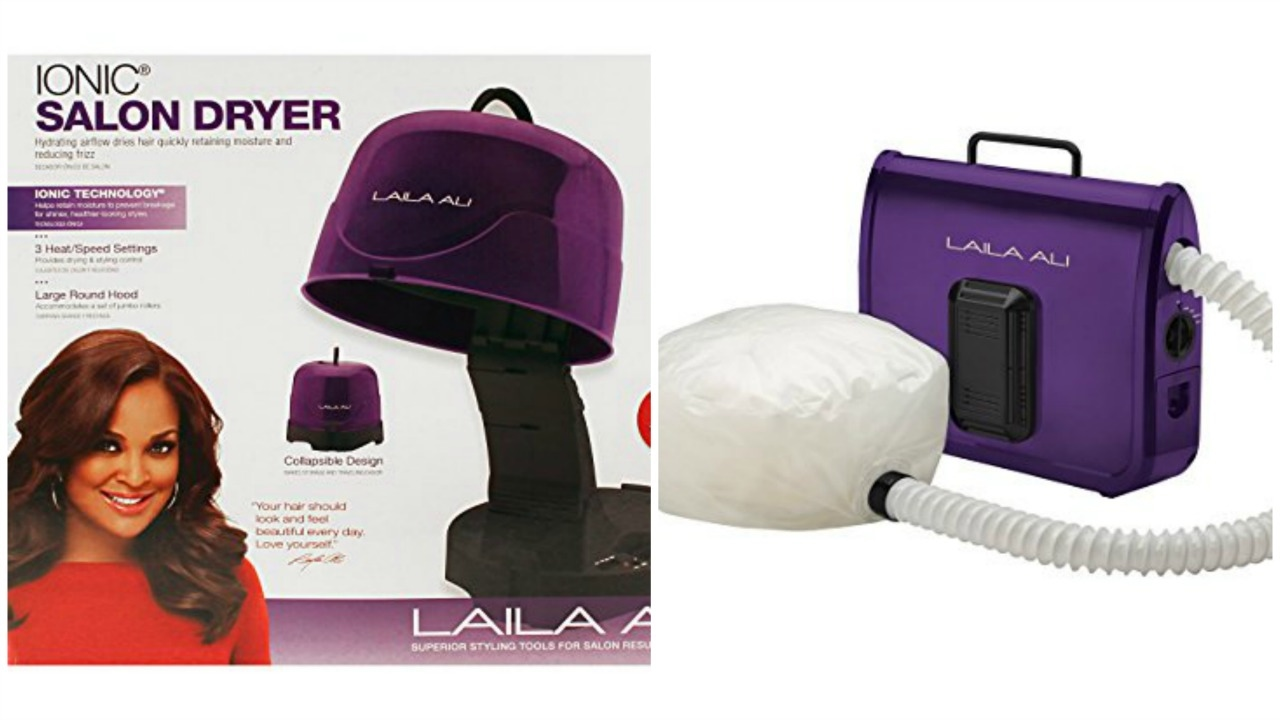 My 2 New Hair Dryers | Laila Ali Ionic Hard And Soft Bonnet - YouTube