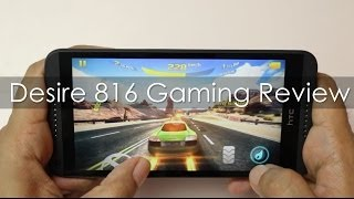 HTC Desire 816 Mid Range Android Phone Gaming Review