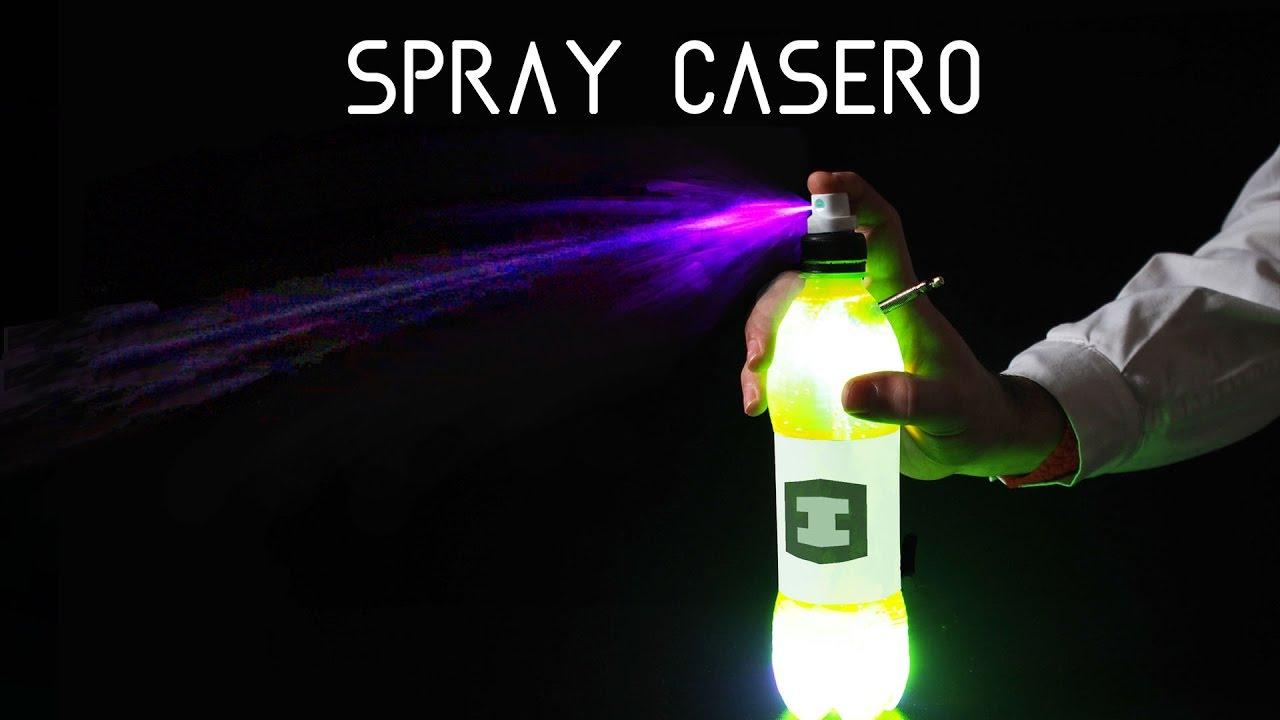 Experimento Casero : SPRAY con una botella, LIFE HACKS, DIY | ExperInventos