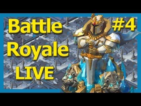 Battle Royale #4 - Battling for A2Z - Lords Mobile