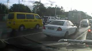 Trinidad Cop Causes Accident And Drives Away!!!