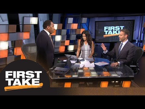 Max is blown away by Stephen A.'s omission of LeBron James with KD, Kawhi | First Take | ESPN