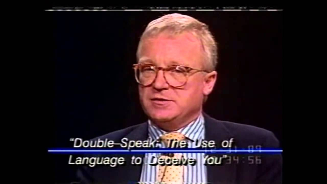 william lutz doublespeak