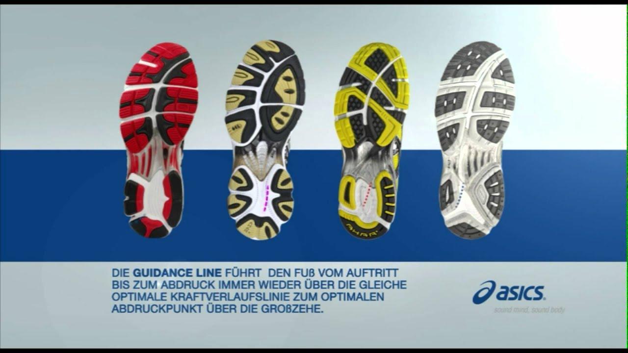 asics gel guidance line
