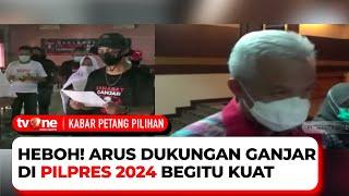 Ketua JoMan: Ganjar Pranowo Layak Gantikan Jokowi di Pilpres 2024   Kabar Petang tvOne