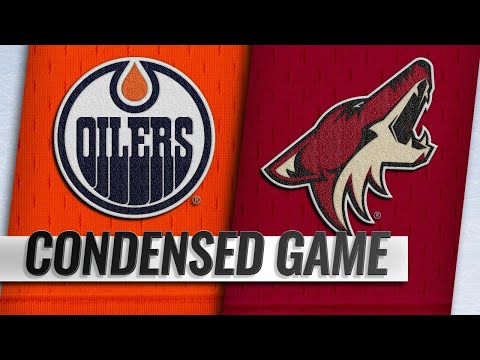 01/02/19 Condensed Game: Oilers @ Coyotes