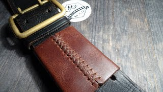 Уроки работы с кожей. Экспериментальная модель. Leather handmade