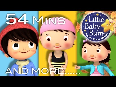 Seasons Song | Plus Lots More Nursery Rhymes | 54 Minutes Compilation from LittleBabyBum!