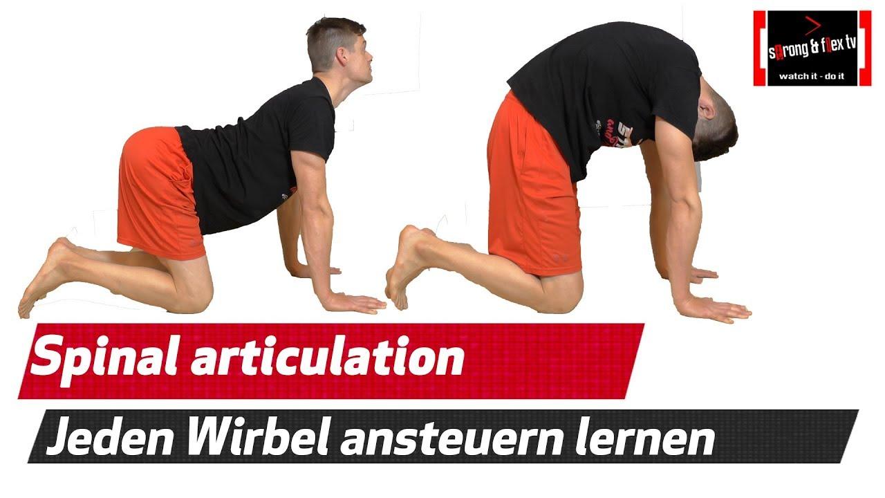 Wirbelsäulen Artikulation - Lerne Deinen Rücken richtig zu benutzen ...