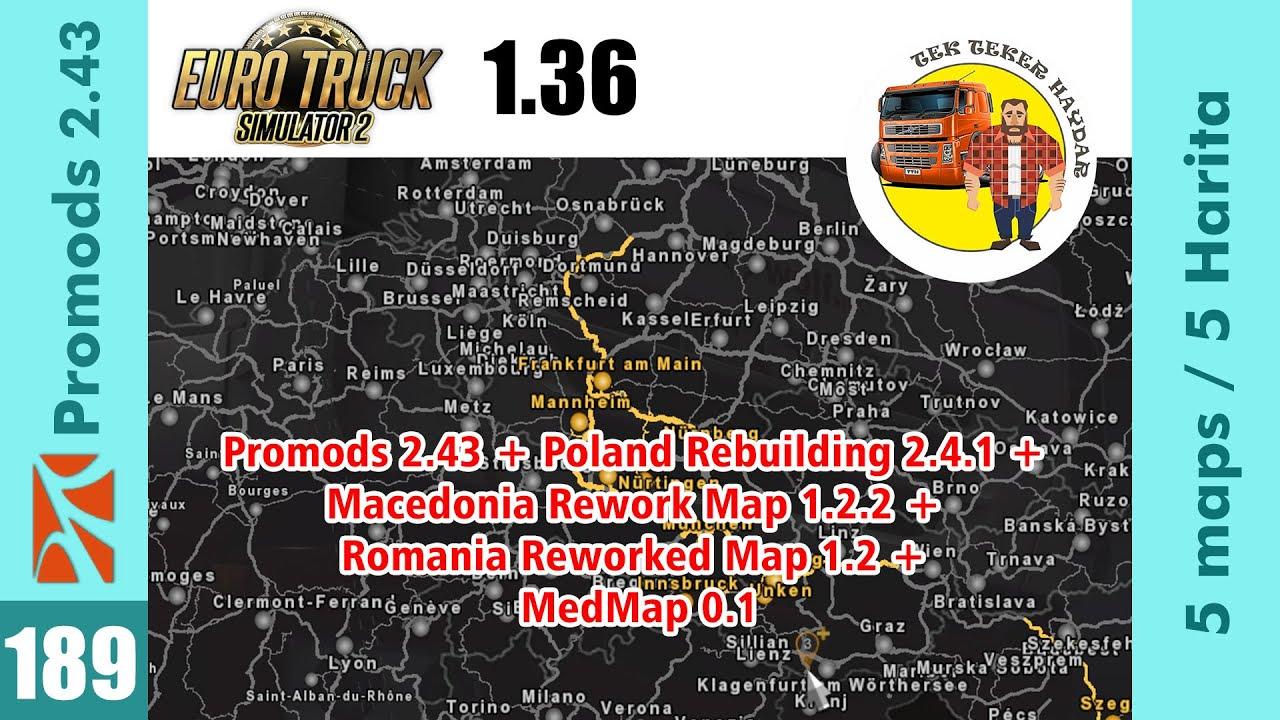Ets2 1 36 Promods 2 43 Pl Rebuild 2 4 1 Rom Reworked 1 2