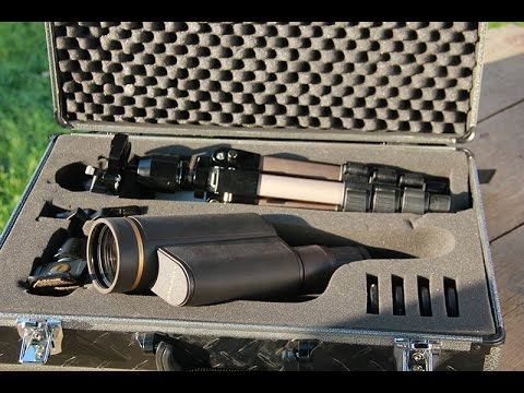 Review Leupold Golden Ring HD Spotting Scope Kit