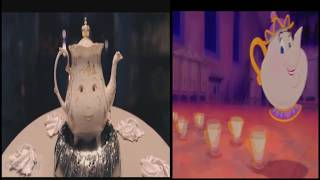 be our guest beauty and the beast 2017 vs 1991 comparison