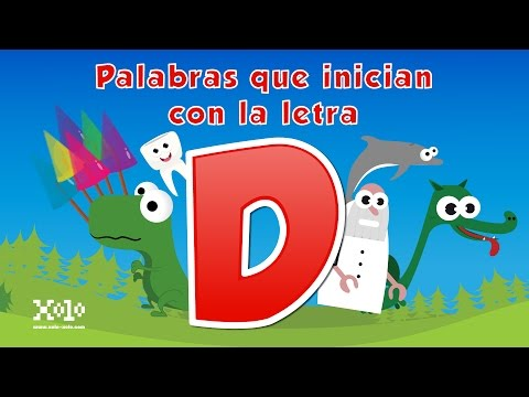 Words that start with the letter D in Spanish for children - Videos Aprende