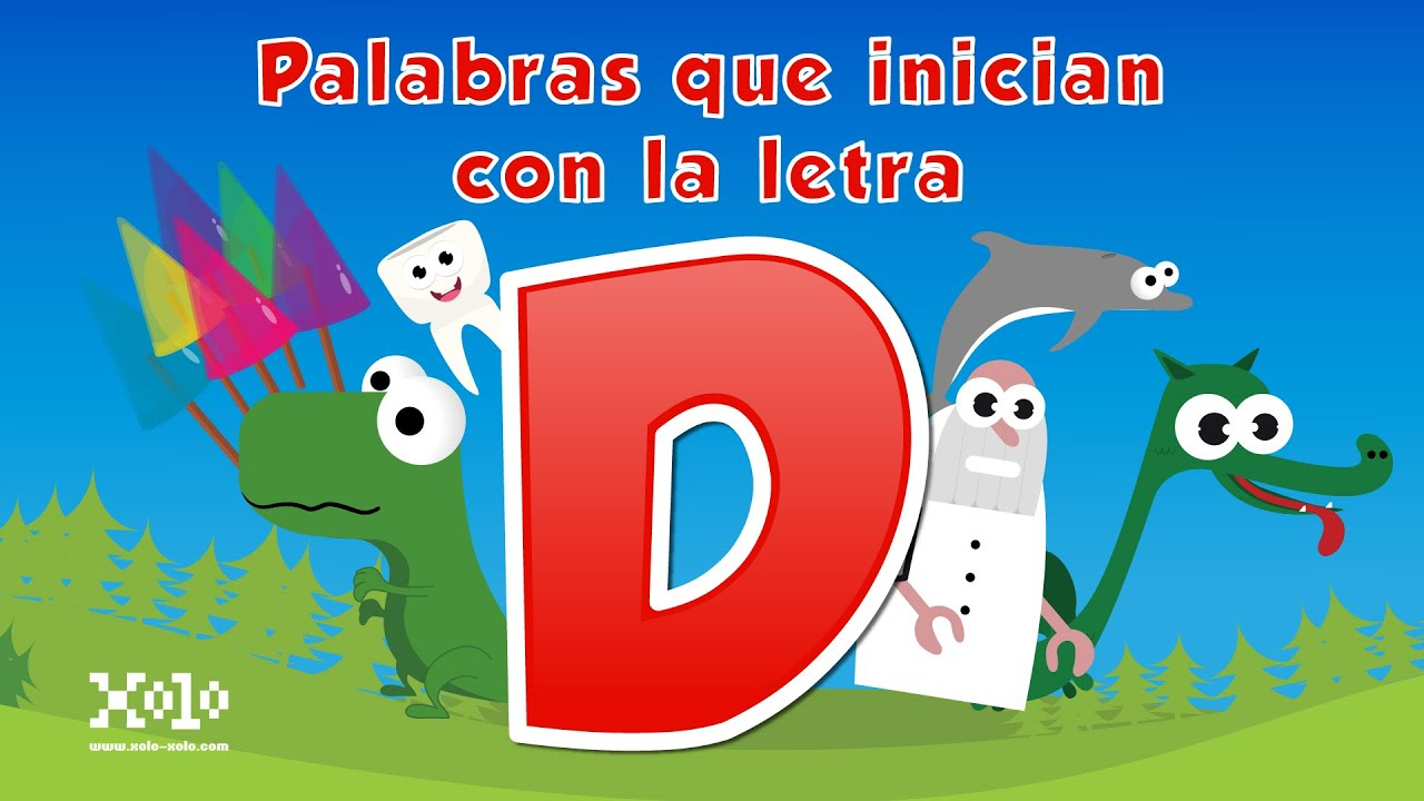 Words That Start With The Letter D In Spanish For Children Videos Aprende