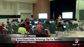 St. Landry teachers participate in Technology Day at Beau Chene High ...