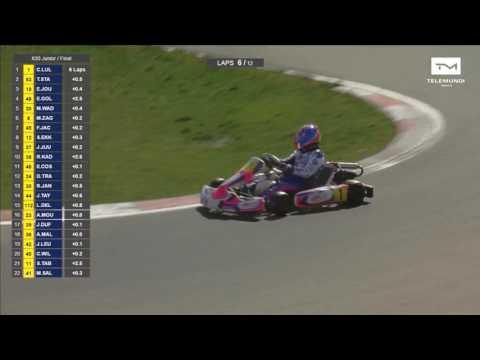 X30 Euro Series 2017 - Kart Prix 1 Genk Belgium - Final Junior