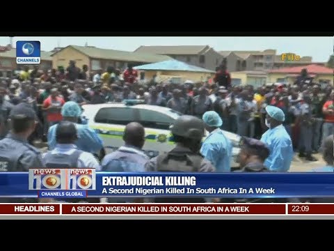 A Second Nigerian Killed In South Africa In A Week Pt.1 |News@10| 06/09/17