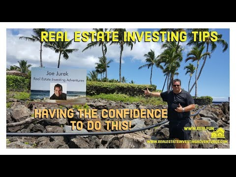 Real Estate Investing Challenges and Having the confidence to do this!
