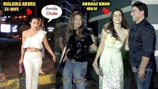 Arbaaz Khan Takes Revenge From Malaika Arora For Divorce,FLIRTS Wid New Girlfriend In Front Of Sis