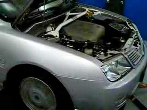 Proton Waja 1 6 4G18 Auto 2nd gear dyno run 01