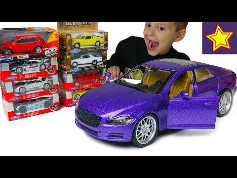 Машинки Игрушки Ягуар со светом Распаковка + Конкурс Имаджинариум Cartoon Network и LEGO