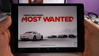 Nexus 9 - Need for Speed Most Wanted Gameplay