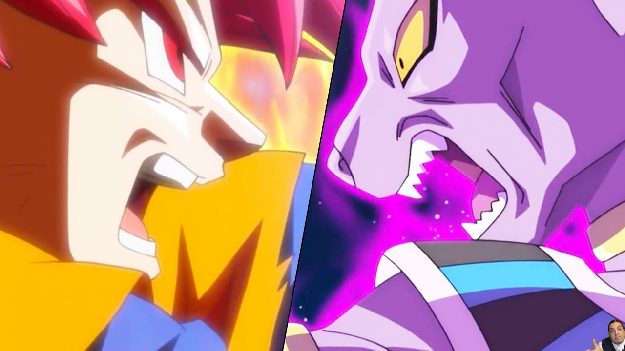 Dragon Ball Super Episode 12 Anime Review SSJ God Goku Vs Beerus Universe Busters
