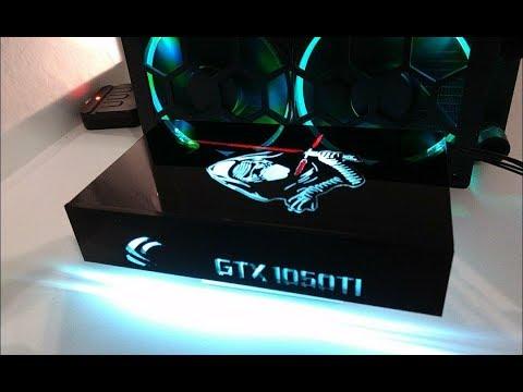 Kylo Ryn RGB Backplate Asus 1050Ti Phoenix