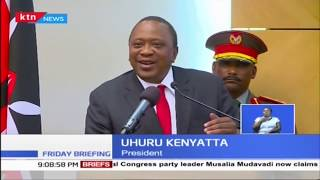 Uhuru's tough talk on corruption stirs up Kenyan's online