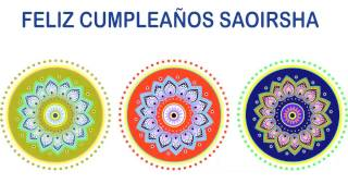 Saoirsha   Indian Designs - Happy Birthday