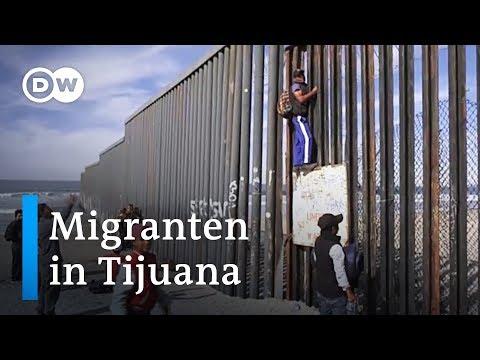 Gestrandet in Tijuana | DW Deutsch