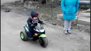 Детский мотоцикл Bambi 1715-5 - дисней.com.ua