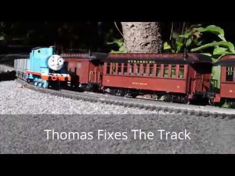Thomas Fixes The Track – G Scale