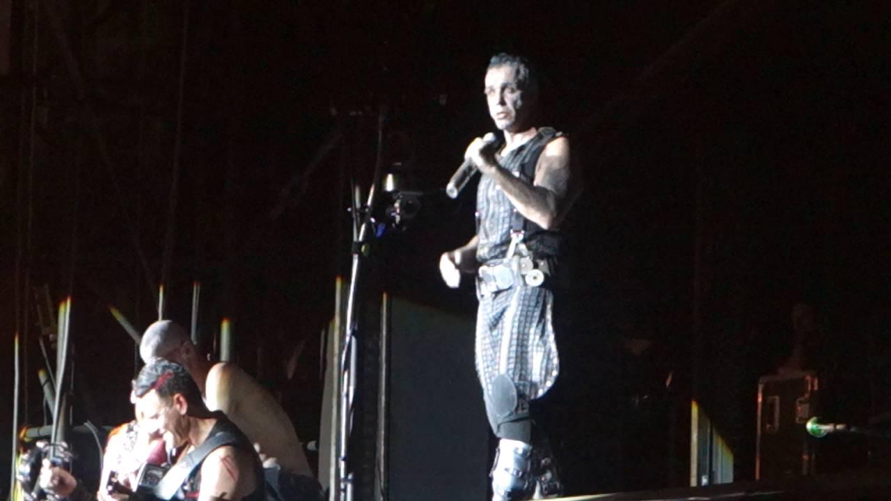 Rammstein Ohne Dich Rock In Vienna 03062016 Youtube