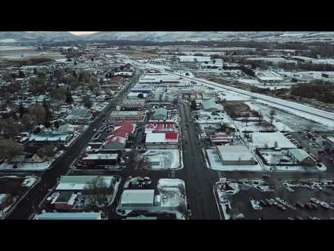 Mavic Pro Drone Footage Ellensburg WA