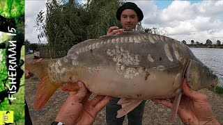 Ловим КАРПА в конце ОКТЯБРЯ Рыбалка на КАРПА в Петродолине