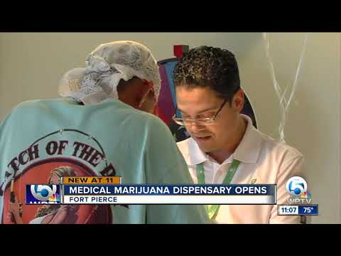Medical marijuana dispensary opens in Fort Pierce