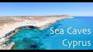 Cape Greco Sea Caves Ayia Napa 2019 Cyprus Drone Aerial