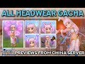 ALL RAGNAROK HEADWEAR GACHA!!  (From China Server) | Ragnarok Mobile Eternal Love