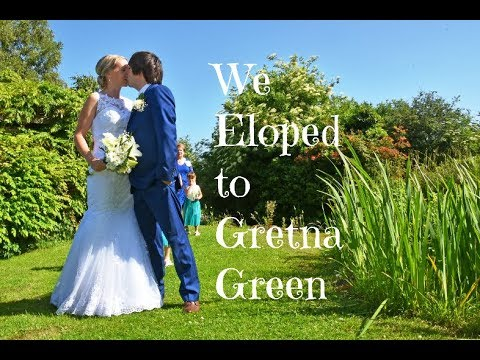 Eloping to Gretna Green : Our Wedding Video (Greens at Gretna Water Gardens)