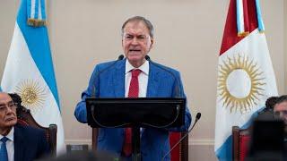 #LegislaturaCórdoba2019 La apertura de sesiones de Juan Schiaretti