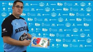 Video Diego Epifanio RP previa Río Breogán TAU Castelló