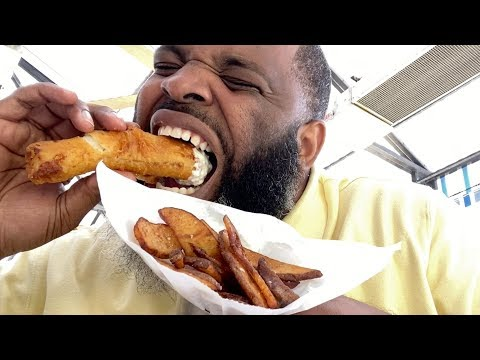 Eating At The BEST Reviewed Fish N Chips Restaurant In My State
