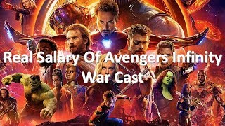 Real Salary Of Avengers: Infinity War Actors Per Episode