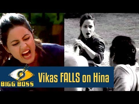 Bigg Boss 11 | OMG! Vikas FALLS on Hina and she LASHES out at him thumbnail