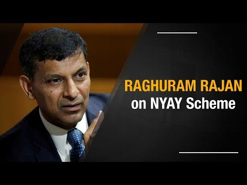 Raghuram Rajan on NYAY: Needed for economic inclusion