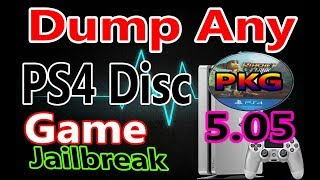 How to Backup And Install Any PS4 Games on 5.05 Jailbreak PS4 With PS4 Dumper