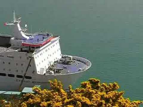 Stena Europe Docking At Fishguard